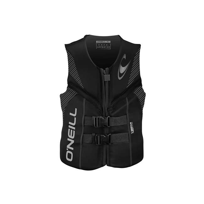 4720-A05-L Reactor USCG Wakeboarding/Waterskiing Life Vest, Large
