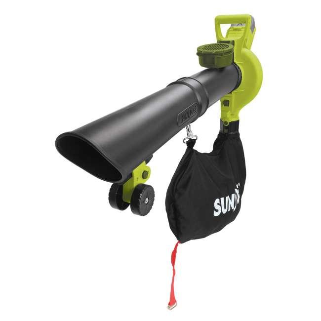 SUJ-IONBV-RB Sun Joe Variable Speed Cordless Blower and Mulcher (Certified Refurbished)  1