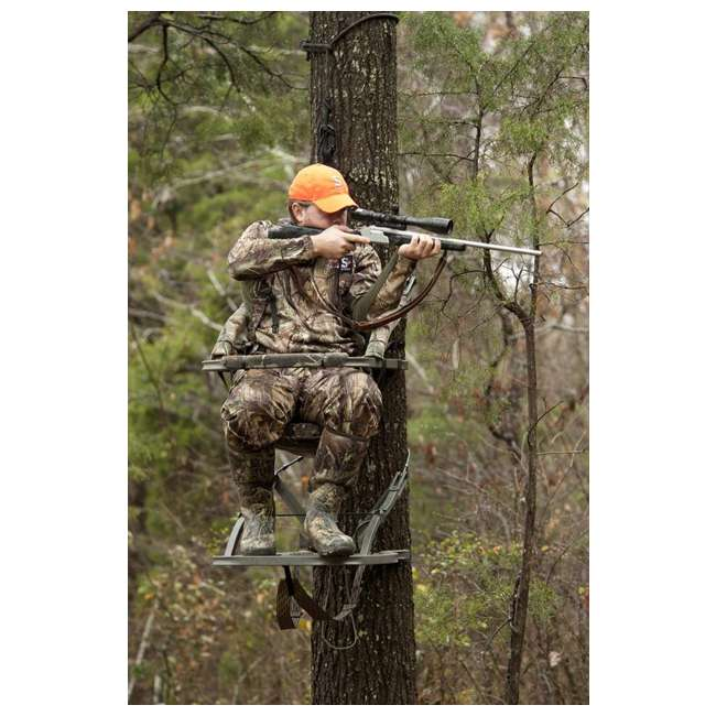 81120-VIPERSD Summit Viper SD 81120 Self Climbing Treestand - Bow & Rifle Deer Hunting 4