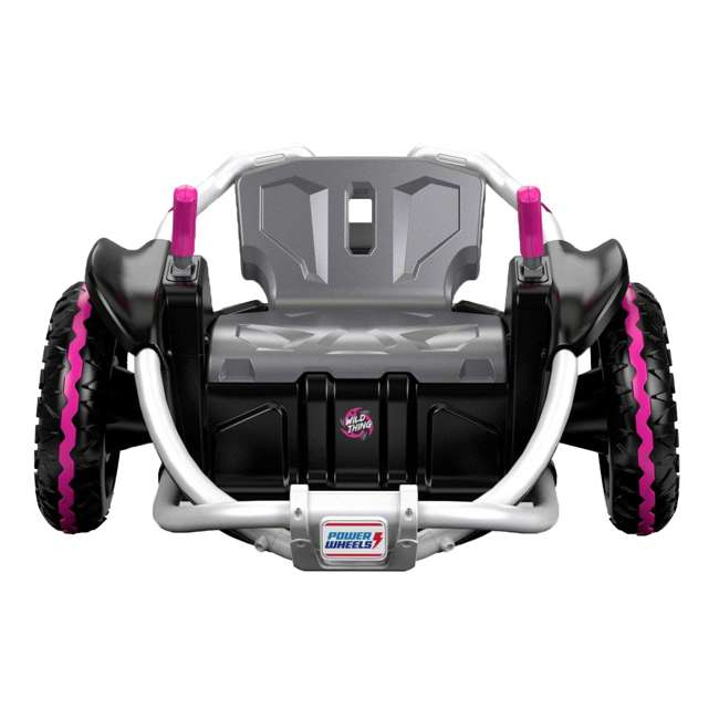 FNK90 Power Wheels Wild Thing 12V Kids Ride-On Vehicle, Pink 1