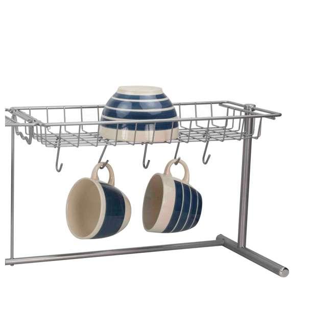 SS41254 Home Basics Kitchen Station Organization Rack (2 Pack) 3