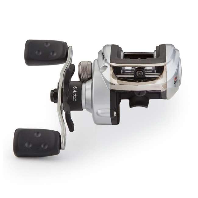SMAX3-L-C Abu Garcia SMAX3-L-C Silver Max Low Profile Left Handed Baitcast Fishing Reel 3