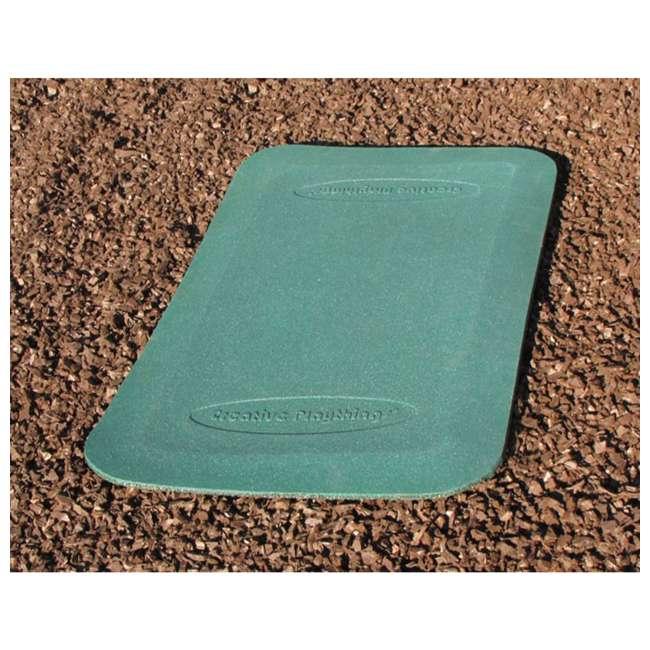 14149-401 Creative Playthings 14149-401 Backyard Play Set Swing Set Ground Wear Pad, Green 1