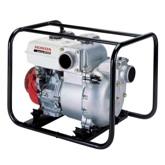 WT30XK4 Honda WT30XK4 3 Inch Cast Iron Volute GX Engine Easy Start Water Trash Pump