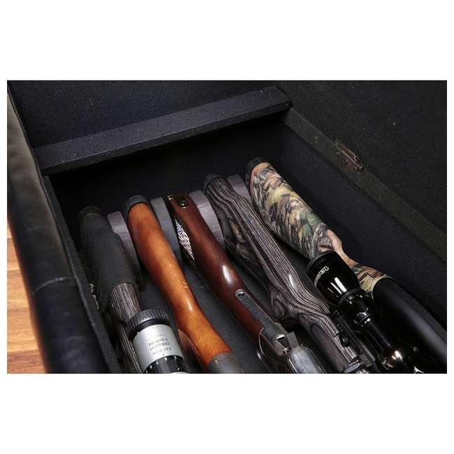 Awe Inspiring American Furniture Classics 502 Concealment Firearm Bench Storage Brown Inzonedesignstudio Interior Chair Design Inzonedesignstudiocom
