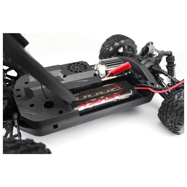 BLACKOUT-XBE-BLUE-U-C Redcat Racing 1/10 Scale Brushed Electric RC Monster Buggy, Blue (For Parts) 6