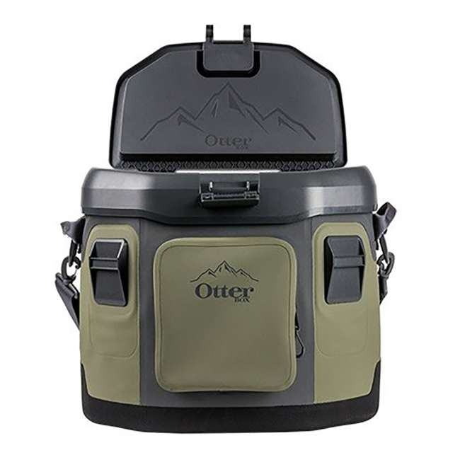 77-57016 OtterBox 20-Quart Softside Trooper Cooler with Carry Strap, Alpine Ascent Green 4