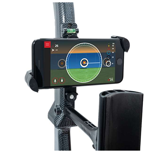 CF/ACCUBOW-4 + A-PHMOUNT-01 AccuBow Bow Hunting Archery Trainer with Adjustable Resistance + Phone Mount Accessory  8