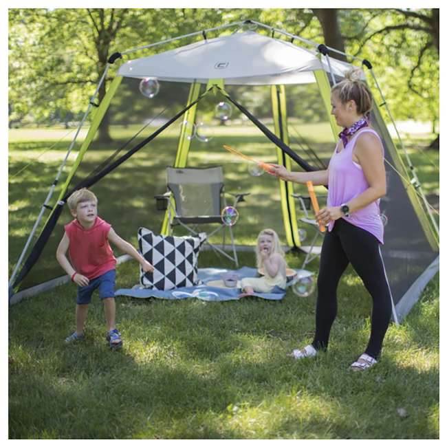 40057 CORE 10 x 10-Foot Instant Screen House Canopy Tent w/ Ground Stakes & Tie Downs 1