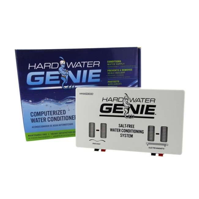 PWGENIEV01US Hard Water Genie Salt-Free Conditioner Softener Treatment and Descaler System