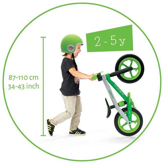 CPMX02LIM Chillafish CPMX02BLU BMXie 2 Childrens Lightweight Plastic Balance Bike, Pink 5