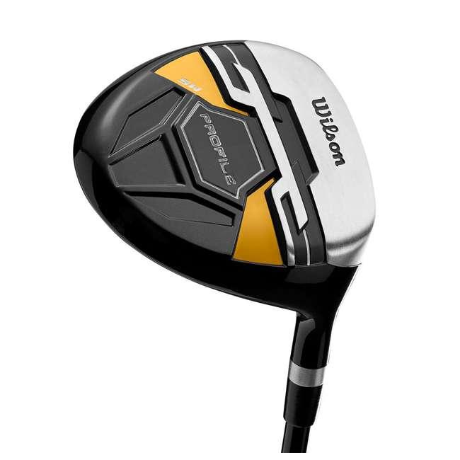 WGGC43700 + GB7-VOICE2-GREY + PGSMGps Wilson Profile XD Clubs, Golf Buddy RangeFinder, Golfwith SmartMarker  3