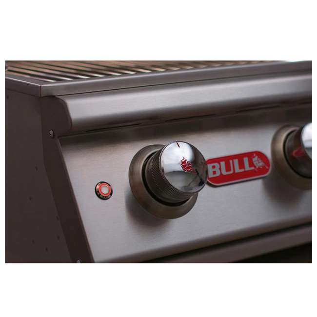 bull outdoor products 5burner btus brahma natural gas outdoor grill head
