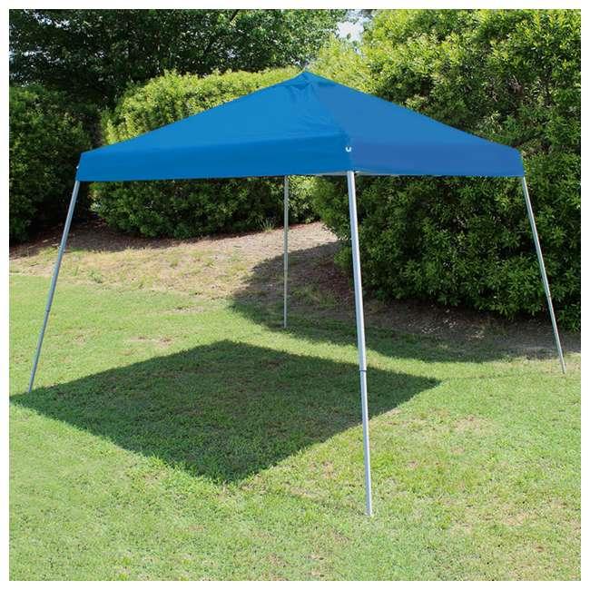 SLANT10-BL King Canopy 10 x 10 Foot Slanted Leg Canopy, Blue 1