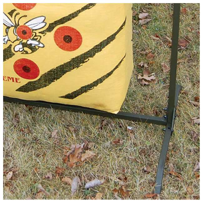 H60450 Hurricane H-20 Deer Archery Target w/ HME Bowhunting 30 Inch Bag Target Stand 6
