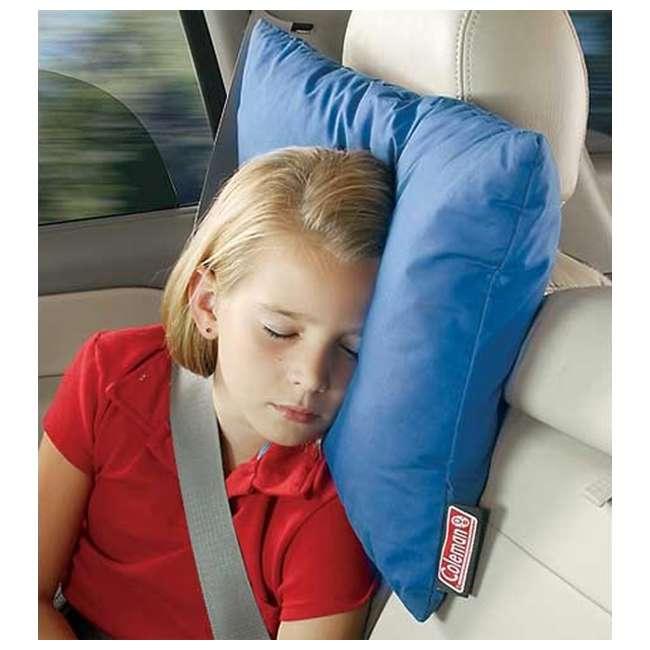 "2000008574 Coleman 12"" x 20"" Fold N' Go Travel Pillow  3"