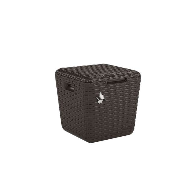 BMDC2200 Suncast Multi Purpose Cooler Side Table Cube, Java