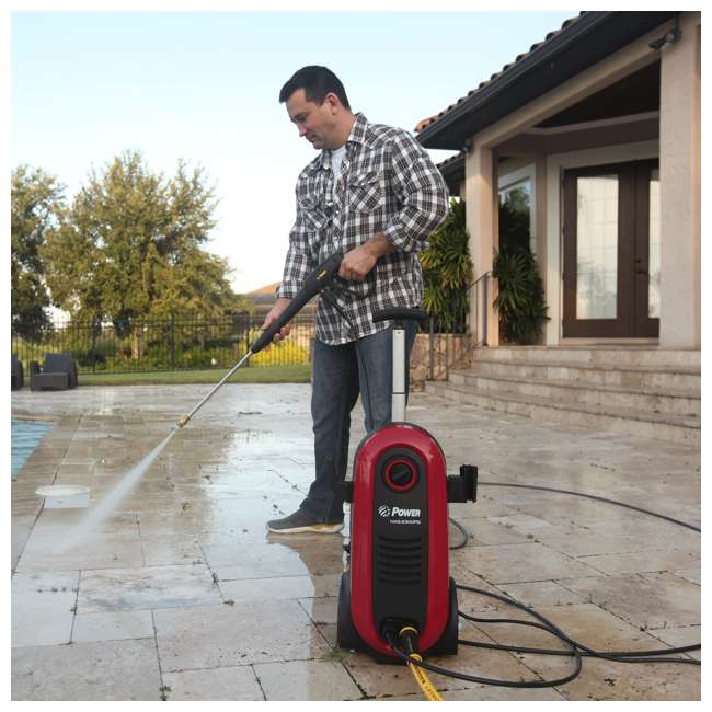 NXG-2200R-U-A Bloom USA 2200 PSI 1.76 GPM 14.5 Amp Electric Pressure Power Washer (Open Box) 3