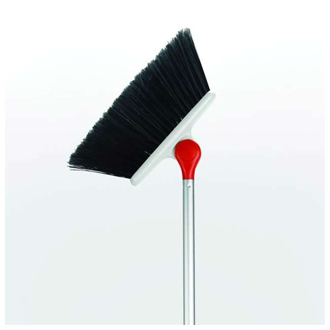 1336580 OXO Good Grips Lightweight Aluminum Frame Any Angle Household Broom, Silver 2