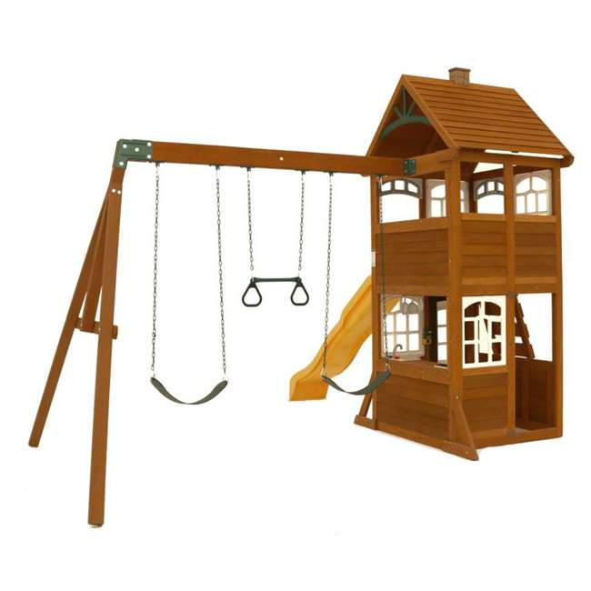 F24950 KidKraft F24953 McKinley Kids Wooden Outdoor Playset 1