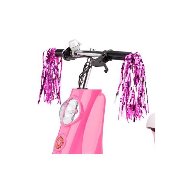 15130659 + 97783 Razor Pocket Mod Electric Sweet Pea Scooter & Youth Helmet (Pink) 5