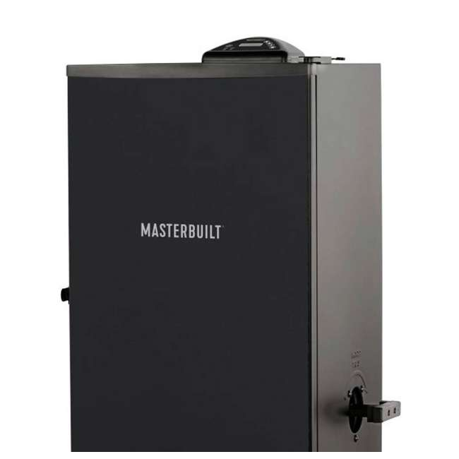 """3 x MB20071117 Masterbuilt Outdoor Barbecue 30"""" Electric BBQ Meat Smoker Grill, Black (3 Pack) 3"""