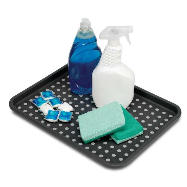 4 x 18106 Madesmart Plastic Under Sink Drip Tray, Graphite (4 Pack) 2