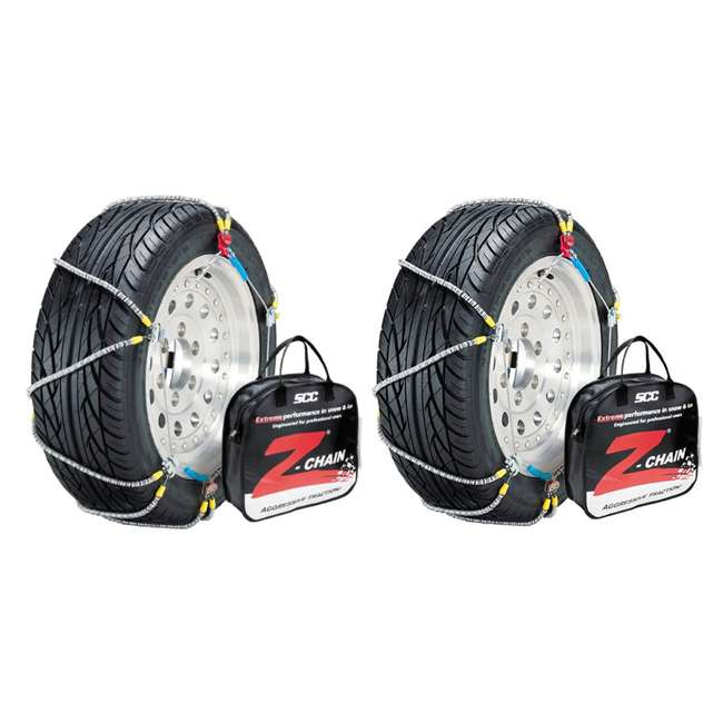 Z571 Peerless Z571 Z-Chain Snow Tire Chains, Pair (2 Pack)
