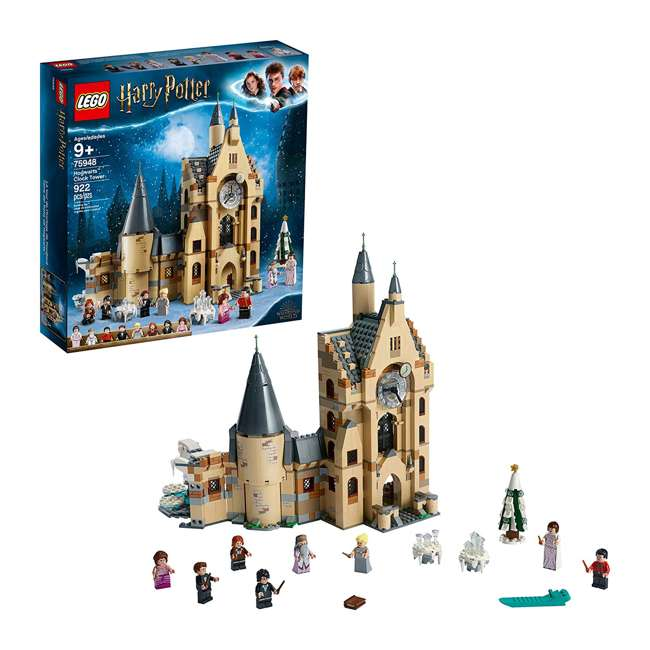 6251024 LEGO 75948 Hogwarts Clock Tower Block Building Kit w/ 8 Harry Potter Minifigures 3