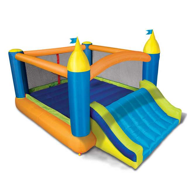 BAN-99522 Banzai Deluxe 2 in 1 Water Park and Bounce House Combo Pack  1