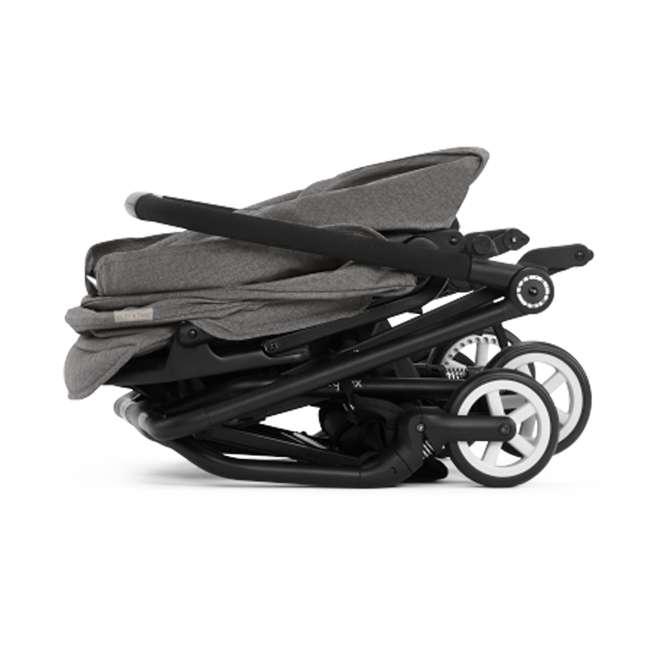 518001265 + 515103015 Cybex Eezy S Twist Stroller, Manhattan Grey & Aton 2  Car Seat 8
