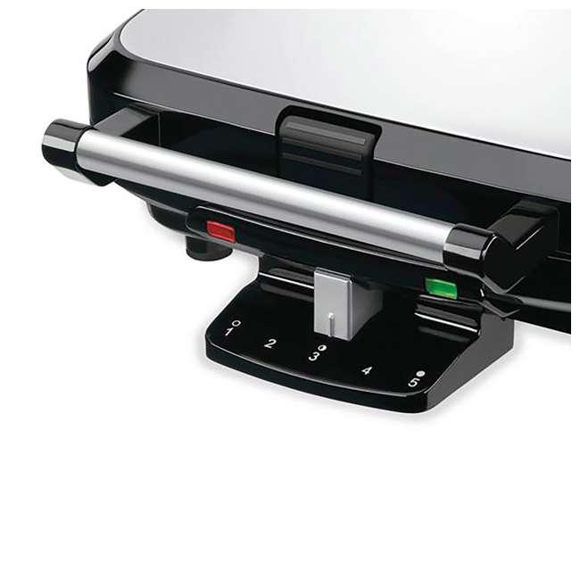 WAF-150-RB Cuisinart 4 Slice Belgian Waffle Maker (Certified Refurbished) (2 Pack) 2