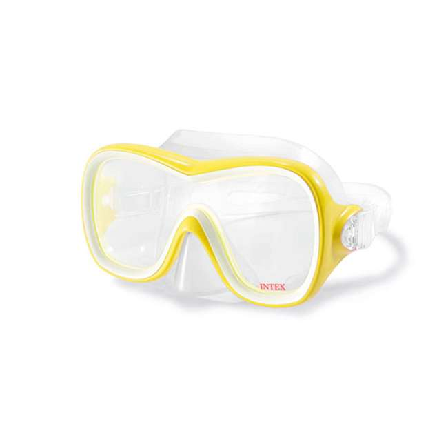 55647E-U-A Intex Wave Rider Latex Free Mask & Easy Flow Snorkel Swim Set (Open Box) 2