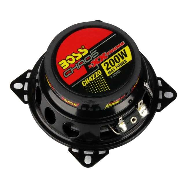 16 x CH4220 16) Boss 4-Inch 2-Way 400 Watt Speakers (Pair) | CH4220 4