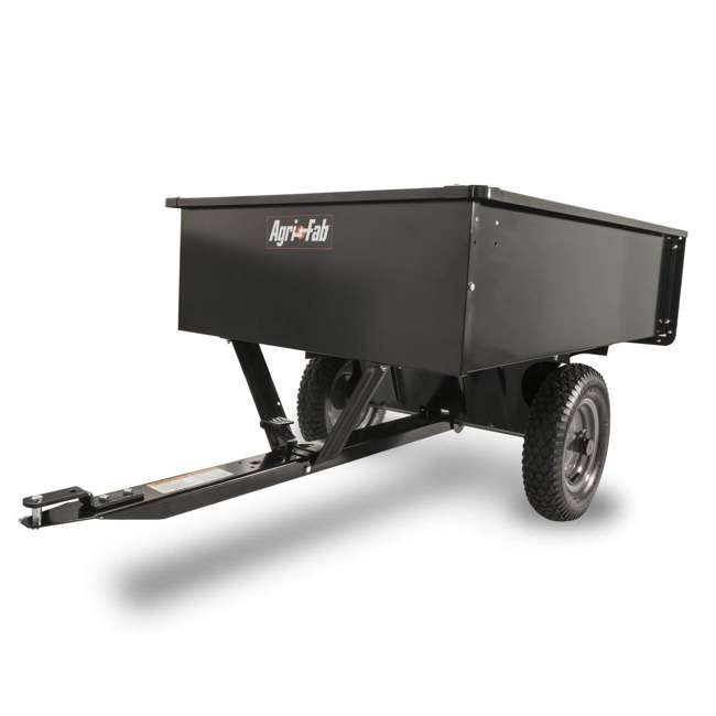 45-0101 Agri-fab Tow Style Steel Dump Cart with 750 Pound Capacity 1