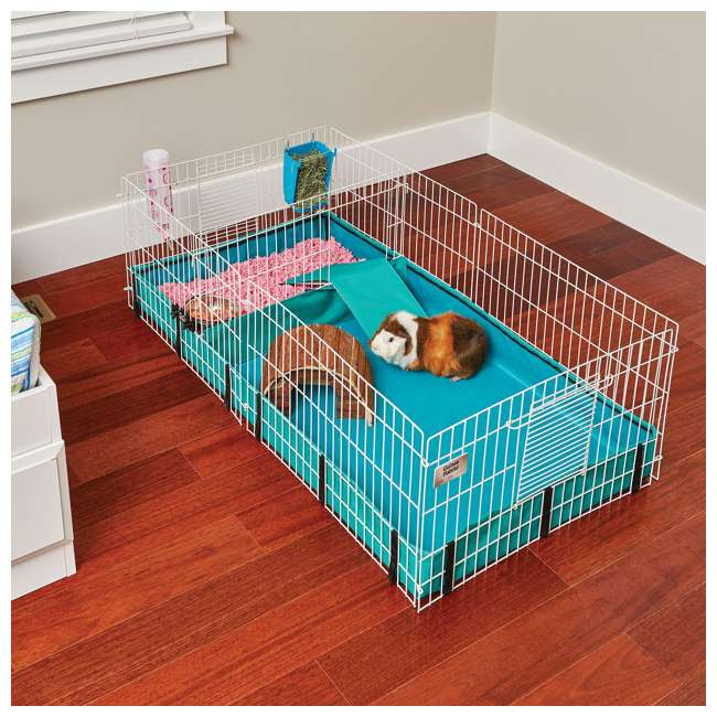 171GH MidWest Homes for Pets Compact Guinea Pig Habitat Cage w/ 8 Square Feet of Area 4