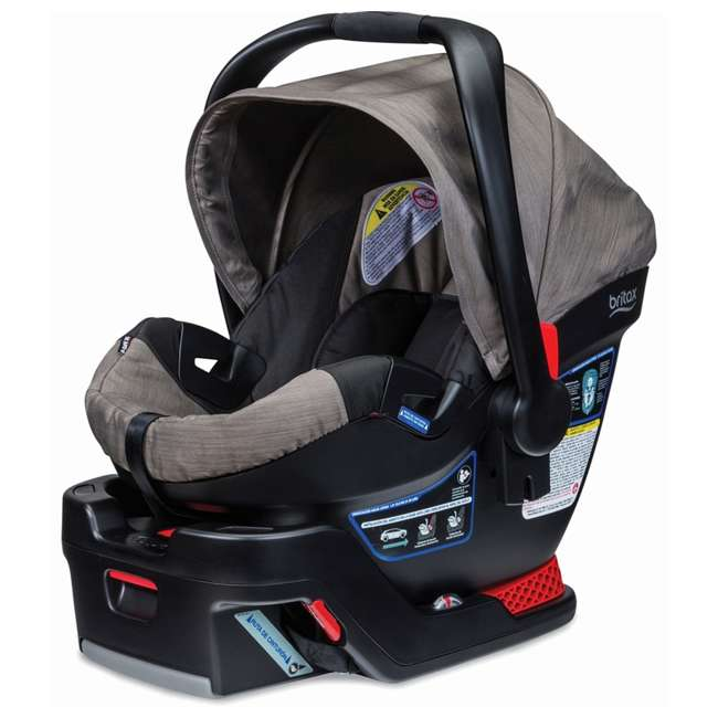 BRI-E1A726R-WMT2 Britax B-Safe 35 Infant Car Seat with Base, Slate Strie