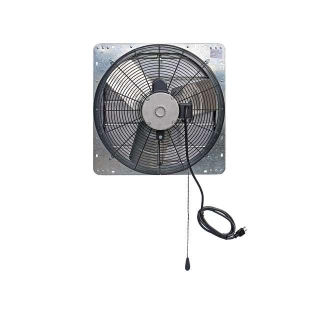 ILG8SF20V-T iLiving ILG8SF20V-T 2 Speed 20 Inch Exhaust Attic Garage Grow Fan w/ Thermostat 2