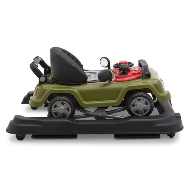 22408-348 Jeep Classic Wrangler 3 in 1 Activity Baby Walker & Toy Car, Anniversary Green 2