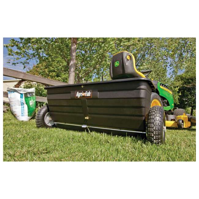 45-0288 Agri-fab 175 Pound Capacity Tow Drop Spreader 6