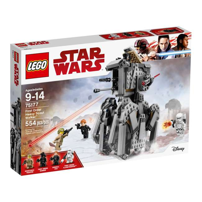 6175745-U-A LEGO Star Wars First Order Heavy Scout Walker 554 Piece Set (Open Box) 3