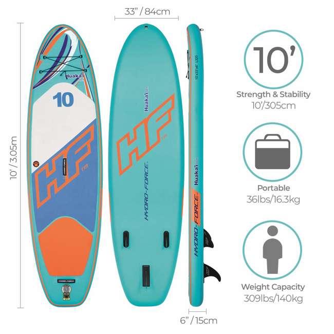 65312E-BW  Bestway Hydro-Force Huaka'i Tech 10 Foot Paddle Board 1