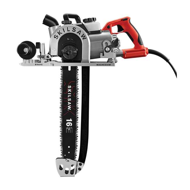 SPT55-11 SKILSAW SPT55-11 16 Inch Heavy Duty Worm Drive SAWSQUATCH Carpentry Chainsaw 1
