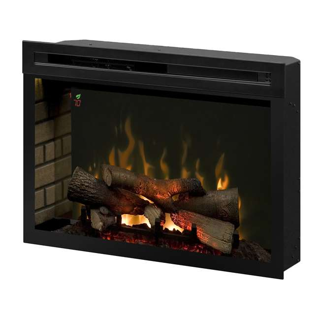PF3033HL-OB Dimplex Fire XD Multicolor 33-Inch Electric Log Firebox(Open Box)