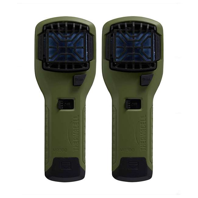 MR300G Thermacell MR300G Cordless Portable Mosquito Insect Bug Repellent (2 Pack)