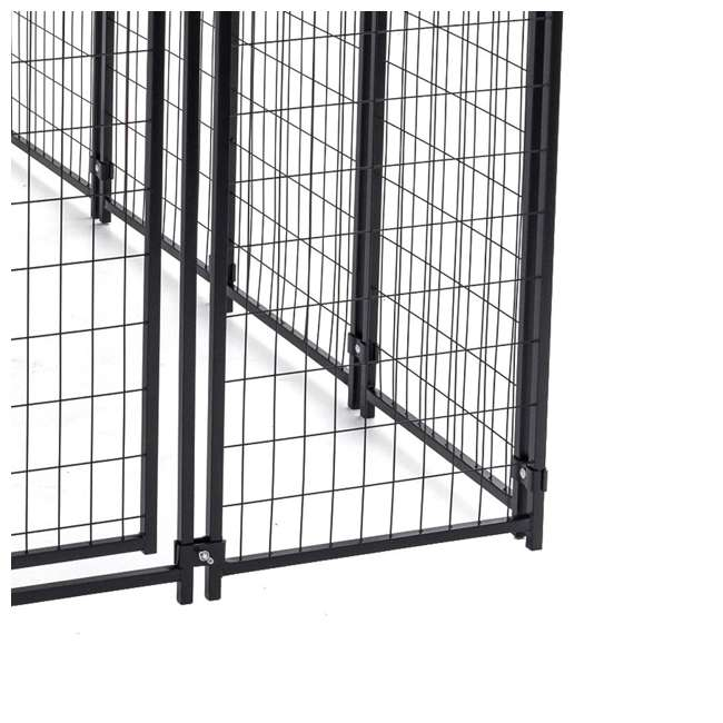 CL-60548-U-A Lucky Dog Uptown Large Welded Kennel Heavy Duty Dog Cage (Open Box) (2 Pack) 4