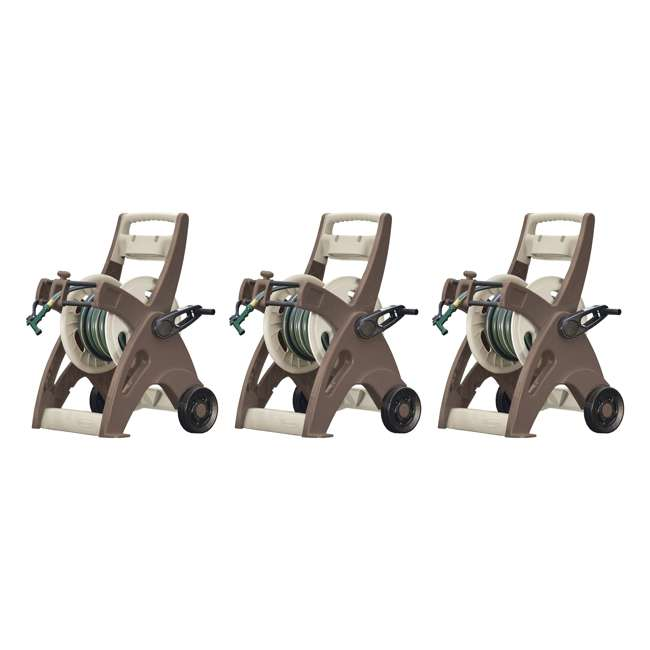 3 x JTT175B Suncast 175-Foot Hosemobile Garden Hose Reel Cart (3 Pack)