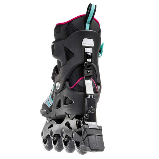 07734500986-6 Rollerblade Macroblade 84 ABT Womens Performance Inline Skates, Emerald Green 2