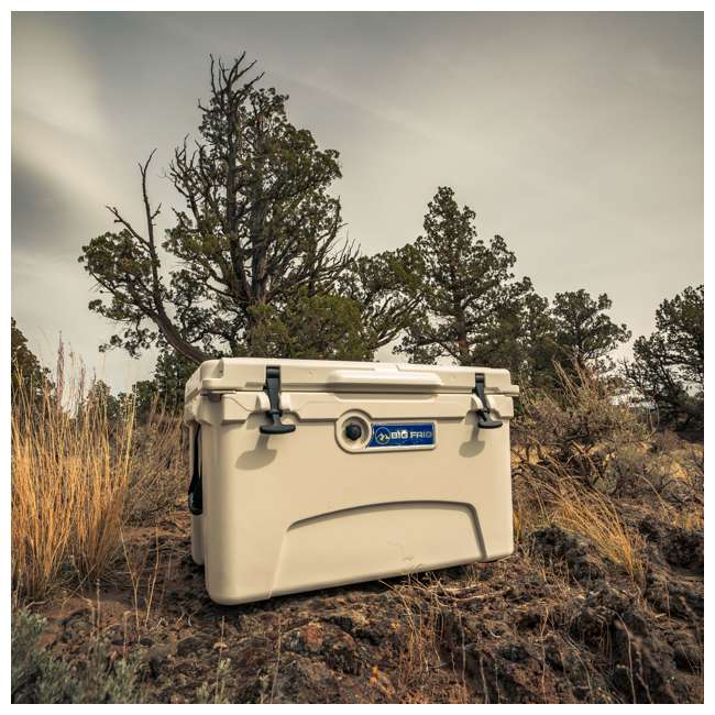 BFDB45-SD Big Frig Denali 45 Quart Insulated Cooler with Cutting Board and Basket, Sand 4