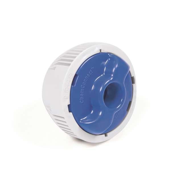 56392E-BW + 58422E-BW Bestway Power 22 x 4.3 Foot Swimming Pool w/ Pump & Filter & Bestway Pool Vacuum 9